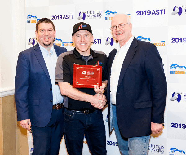Most Professional Servicer Winner 2019 Annual Service